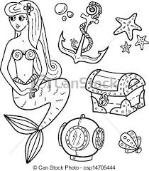 EPS Vector Of Coloring Book Page