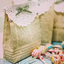 Green And Eco Friendly Gift Wrapping Ideas Colored Newspaper Recycled