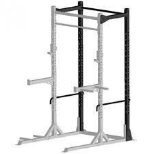 Lifeline Half Rack With Bench Jungle Gym XT With Weight Set Power