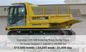 100 Dump Trucks For Rent Track MW Equipment Als