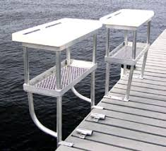 Fish Cleaning Station With Sink by Fish Cleaning Tables Clearwater Docks