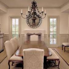 Cream Colored Dining Room Is Elegant Timeless