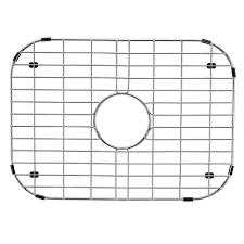 Kohler Kitchen Sink Protector by Vigo 18 In X 13 In Kitchen Sink Bottom Grid Vgg1318 The Home Depot