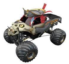 New Bright 1:14 Scale Monster Jam Pirates Curse Race Car - Toys