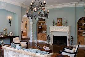 Incredible Light Blue Living Room Decor And Walls Rendering Trends