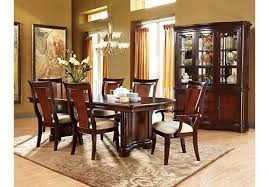 Rooms To Go Dining Room Sets Shop For A Granby 5 Pc Double Pedestal Diningroom At Regarding Chairs