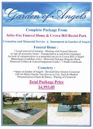 SELBY FOX FUNERAL HOME SELBY FOX FUNERAL HOME