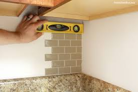Tiling Inside Corners Wall by Kitchen Mini Makeover How To Nest For Less