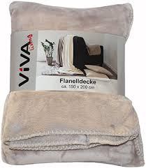 flanelldecke 150x200cm wohnzimmer sofa kuscheldecke decke