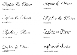 Free Wedding Invite Fonts Lovely For Your Invites Stationery Enchanting
