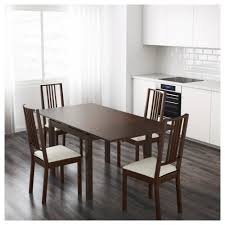 Ikea Dining Room Chairs Uk by Bjursta Extendable Table Brown Ikea