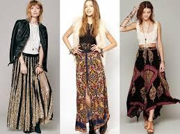 Terrific Long Skirt Boho Style 9