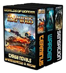 Worlds Of Wonder Three Novels Science Fiction Fantasy By Hardman Kevin