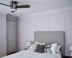 harbor breeze mazon 44 in brushed nickel flush mount indoor