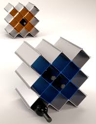 Nucleus modular wine rack
