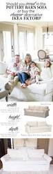 Pottery Barn Charleston Sleeper Sofa by Furniture Slipcovered Sectional Sofa Pottery Barn Slipcovered