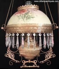 Antique Kerosene Lanterns Value by Miller Hanging Lamp For Sale Oil Lamp Antiques