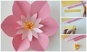 Paper Cutting Flower Designs Step By A Ideal Vistalist Co