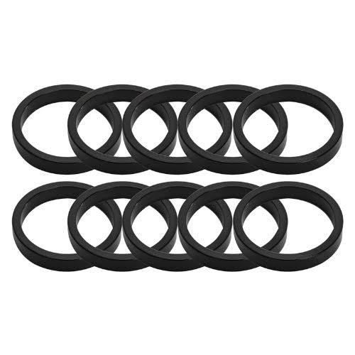 Origin 8 Headset Spacers - Black, 5mm x 1""