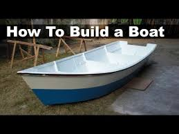 how to build a boat out of plywood 15 ft 4 5 m dinghy youtube