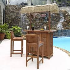 Patio Bar Sets Outdoor Bar Furniture The Home Depot