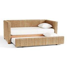 Seagrass Headboard Pottery Barn by Seagrass Daybed With Trundle Potterybarn My Studio U0026 Sacred