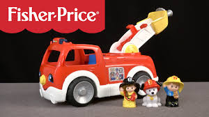Little People Lift 'n Lower Fire Truck From Fisher-Price - YouTube Amazoncom Fisherprice Little People Dump Truck Toys Games Servin Up Fun Food Youtube Power Wheels Ford F150 Will Make You Want To Be A Kid Again Laugh Learn Amazon Kids Buy Thomas The Train Wooden Railway Troublesome Trucks Paw Patrol Fire Battery Powered Rideon Serving Fisher Price Little Wheelies New In Box 1000 Giggling 2pack Fisher Price And Online Friends Adventures