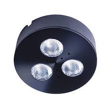 armacost lighting trivue matte black 4000k 2 75 in puck light