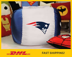 New England PATRIOTS Bean Bag Chair Cover NFL Bean Bag | Etsy X Rocker 132 Round Extra Large Shiny Bean Bag Multiple Colors Chair Big Inflatable Seat Bearing 220lb For Adult Football Sport L White And Azure Cover Made In Eco Leather Folding Chairs Plastic Wooden Fabric Metal Shop Asher Faux Suede 65foot Lounge Beanbag By Christopher Bed Beans Funky Sports Adults Cordaroys Convertible Bags Theres A Bed Inside Full Fashion Sofa Air Soccar Self Types Of Its Hippie History June 2019