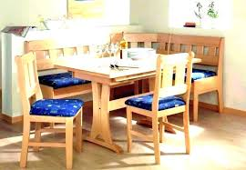 Booth Dining Set Table Kitchen And Chairs Corner Room Retro Style