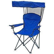 Direct Import Folding Chair W/ Canopy, Arm Rests And Carry ...