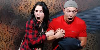 Halloween Scary Pranks 2015 by 32 Hilarious Haunted House Reactions Caught On Camera Huffpost