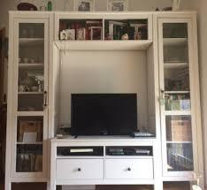 ikea hemnes tv schrank wohnzimmerwand