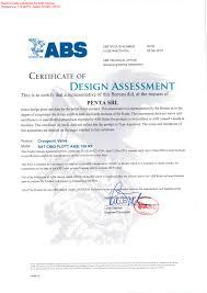 bureau of shipping abs penta valve receives abs approval penta srl de