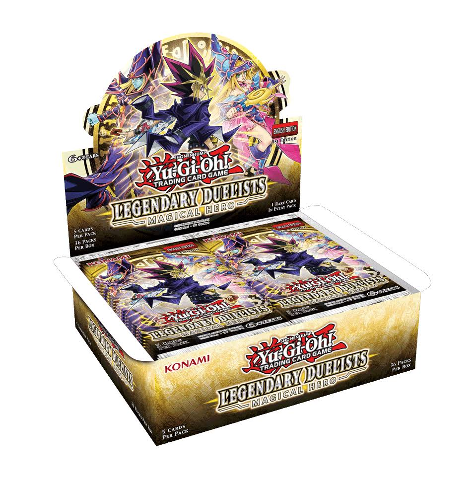 Yu-Gi-Oh! Legendary Duelists - Magical Hero Booster Box