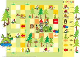 Click To See Printable Version Of Adventure Board Game Template Paper Craft