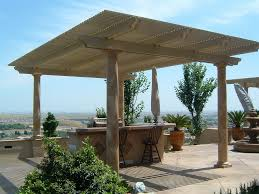 Diy Wood Patio Cover Kits by Free Standing Wood Patio Cover Kits Home Design Ideas