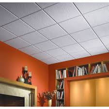 Vinyl Ceiling Tiles 2x2 by Luna Climaplus Suspended Ceiling Tile R76775 Do It Best
