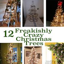 12 Freakishly Crazy Christmas Trees