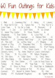60 Places To Go With Kids