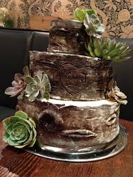 Wood Wedding Cakes Chocolate Fondant And Rustic On Emasscraft Org