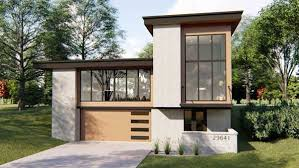 Modern Houseplans Modern House Plan 3 Bedrooms 2 Bath 2682 Sq Ft Plan 52 376