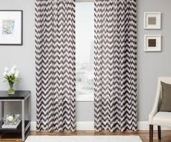 Yellow And Gray Chevron Kitchen Curtains by Curtains Grey And White Curtains Phenomenal Grey And White Tier