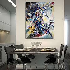 ttkx wassily kandinsky wandbilder für wohnzimmer kunst
