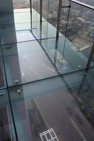 The Trans Luxury Hotel Bandung Glass Floor View From Restaurant At Top