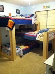 awesome triple bunk beds 3 high images design ideas tikspor