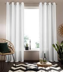 my home gardine nora my home ösen 1 stück halbtransparenter stoff kaufen otto