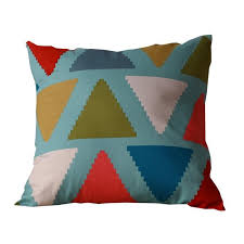 taie coussin canapé go4u triangle couleur housse coussin canapé lit maison décor taie d