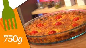 recette de quiche sans pâte 750 grammes
