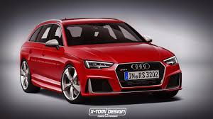 2017 Audi RS4 Avant Rendered But What Will Power It autoevolution